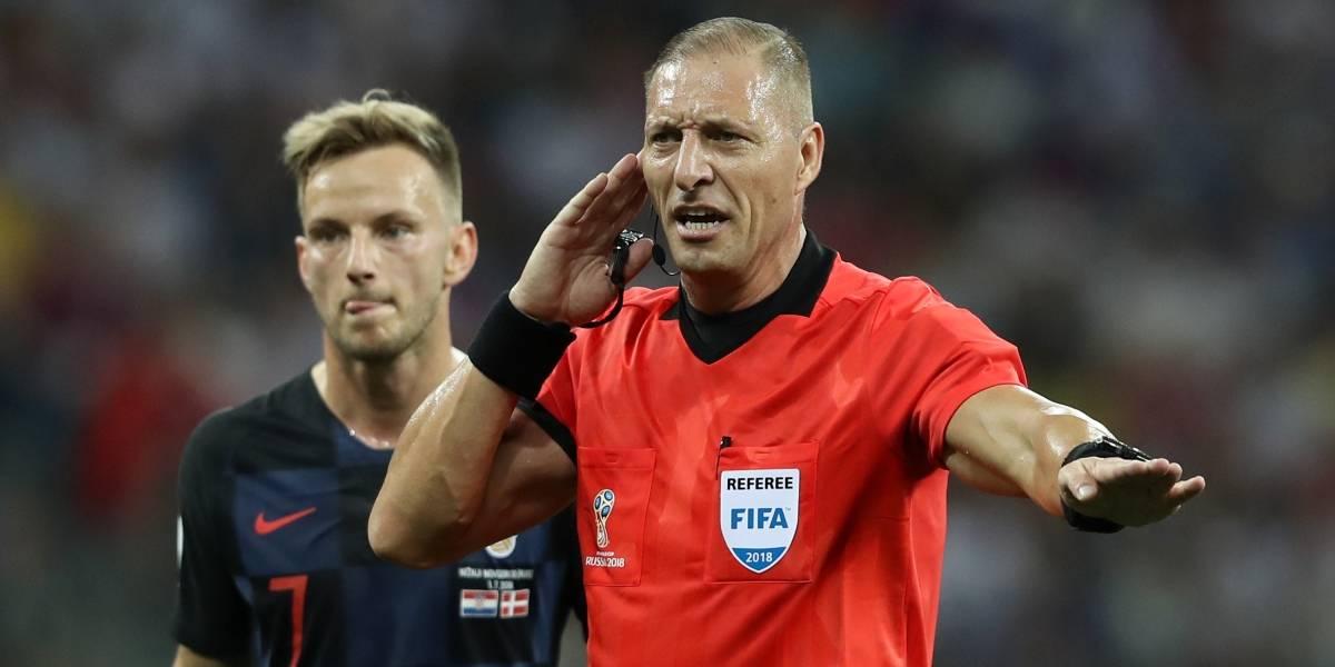 Argentina en la final del Mundial: Nestor Pitana será el árbitro de Francia-Croacia