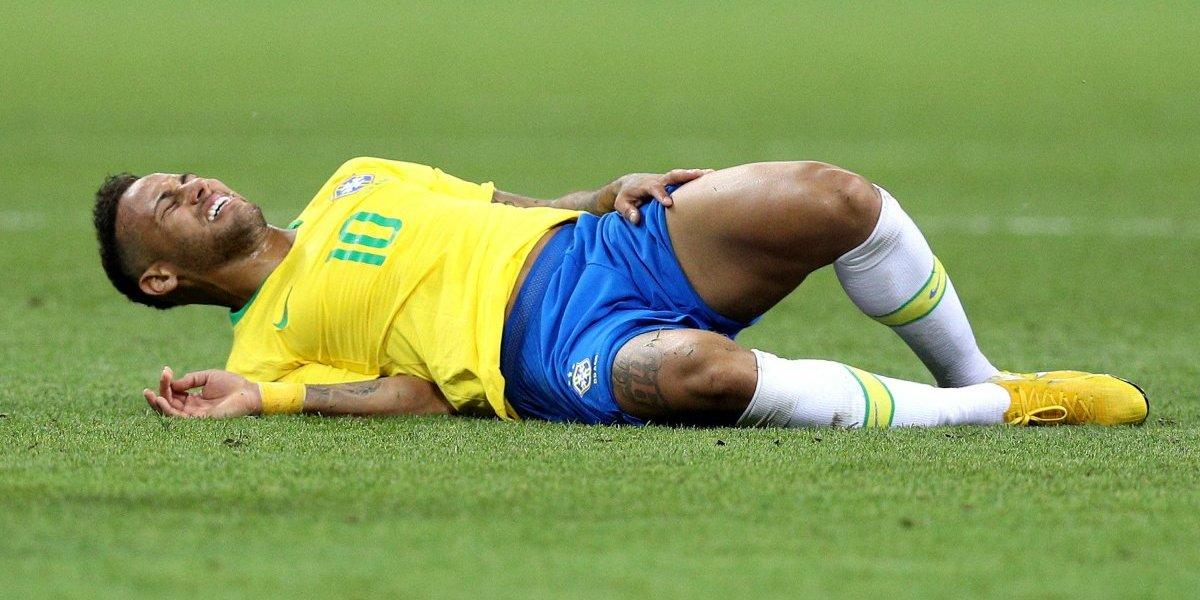 Crean tipografía con las caídas de Neymar