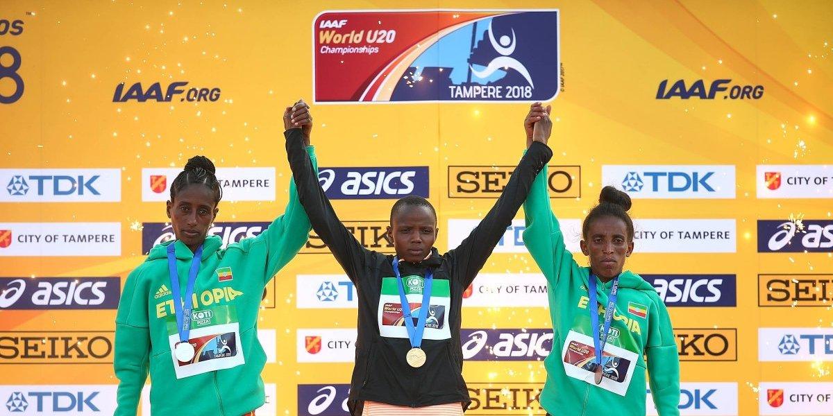 Polémica por atleta de Etiopía que no aparenta su edad