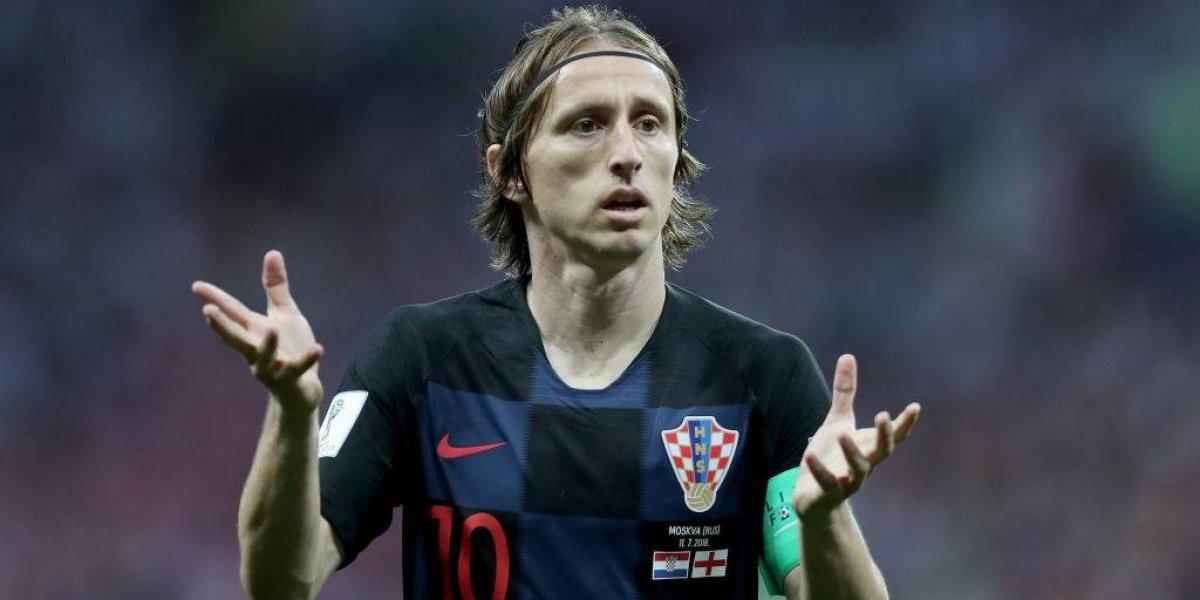 """Luka Modric se lanza contra los medios ingleses: """"Nos miraron en menos, deberían ser más humildes"""""""