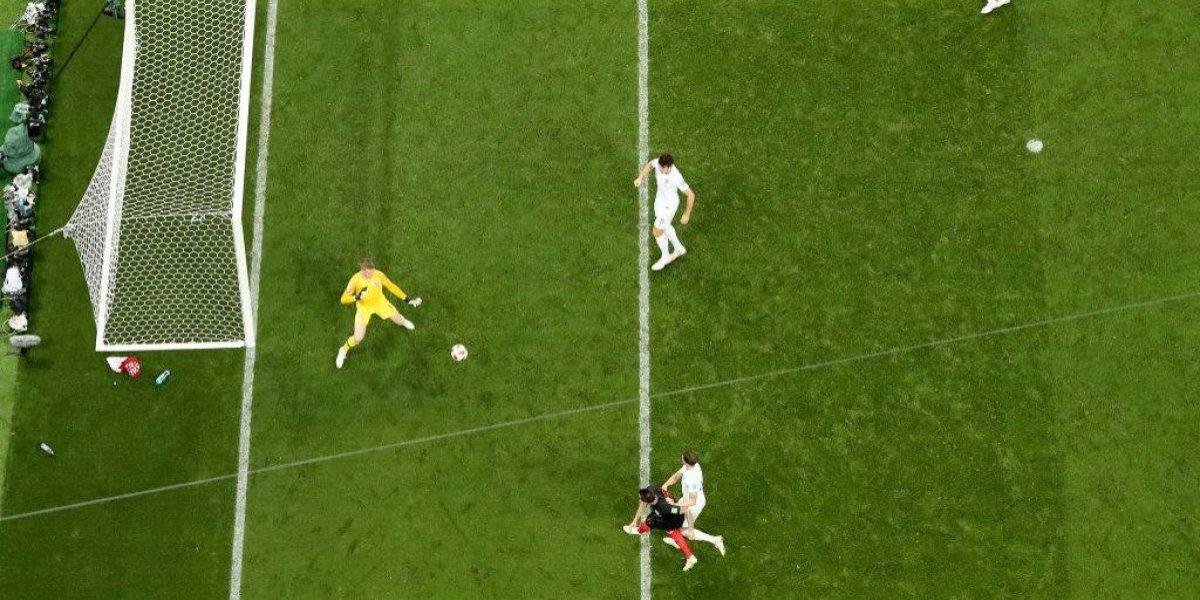 Insólito: Inglaterra quiso meter un gol cuando Croacia celebraba el 2-1 en el alargue