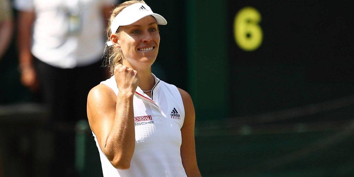 Angelique Kerber, la primera finalista de Wimbledon