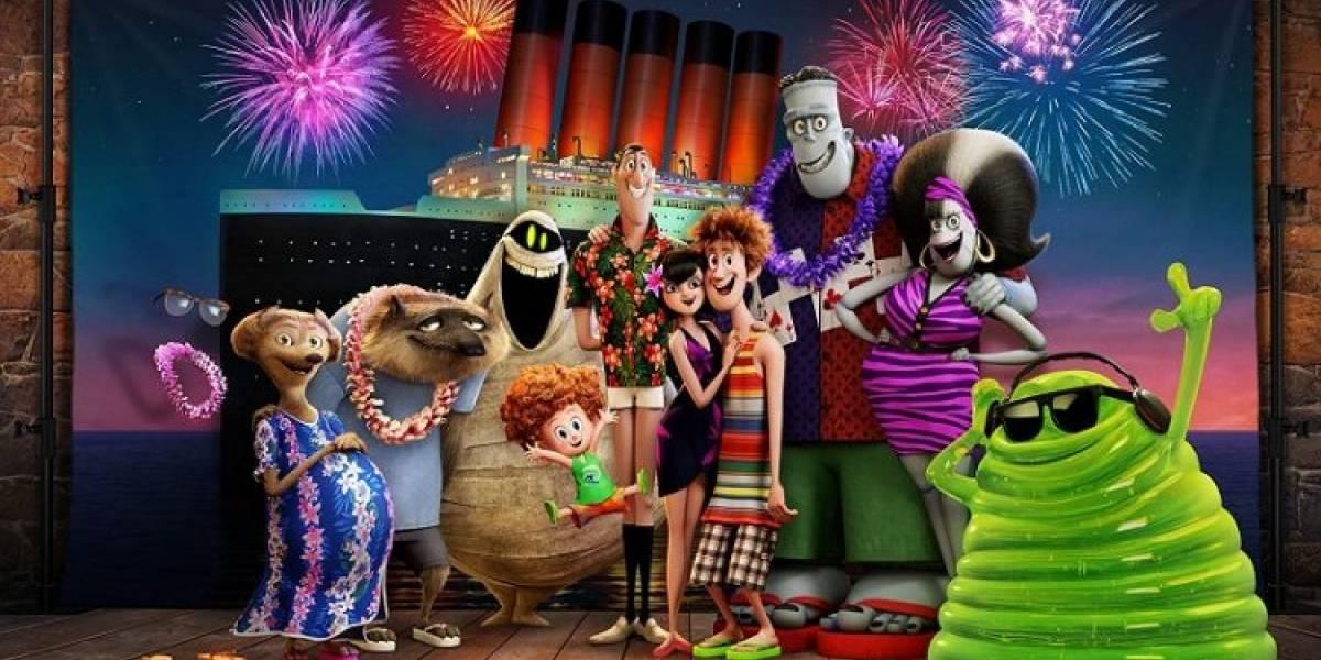 Animação Hotel Transilvânia - Férias Monstruosas coloca criaturas para curtir cruzeiro de férias