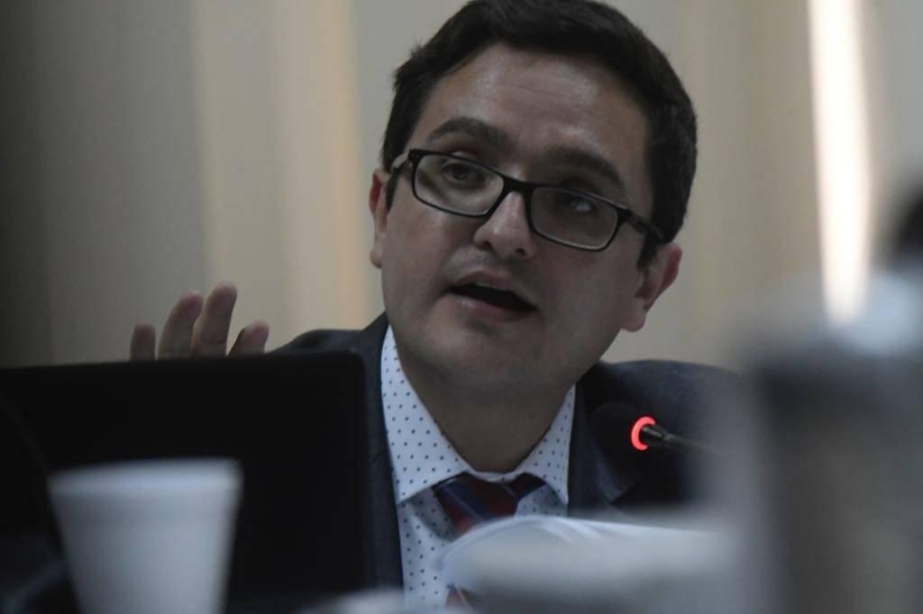 Juan Francisco Sandoval, jefe de la FECI
