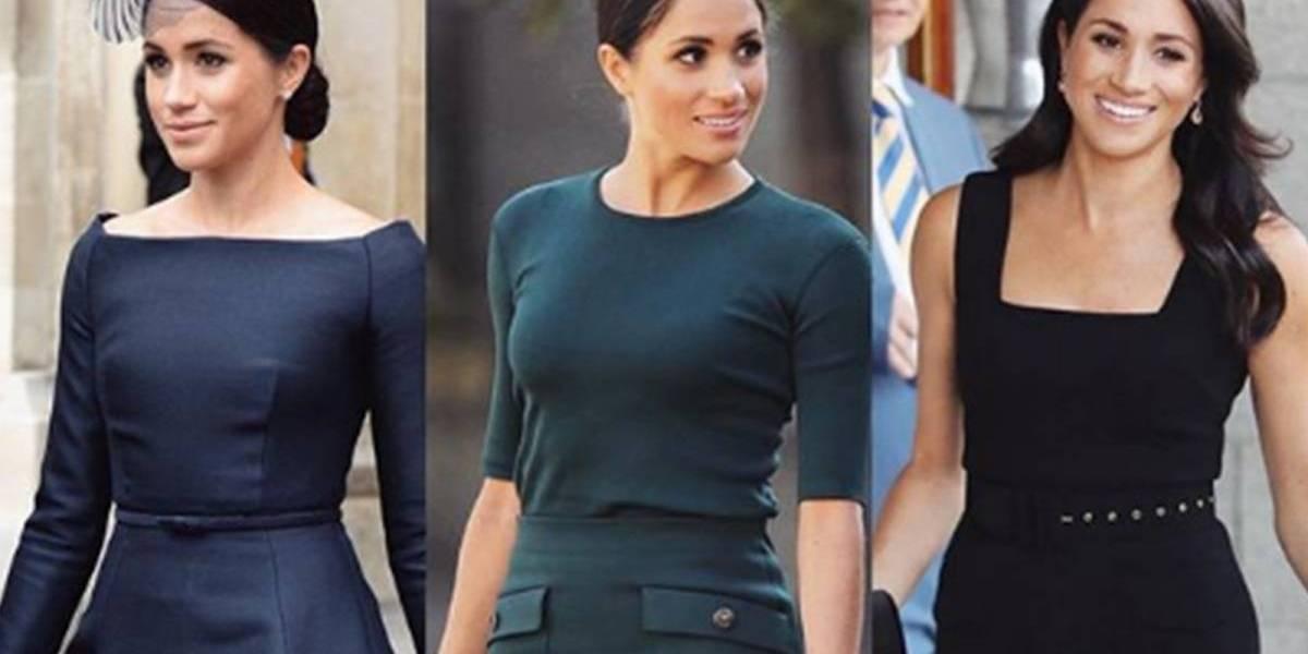 Meghan dá exemplo de estilo: 3 looks impecáveis em um único dia
