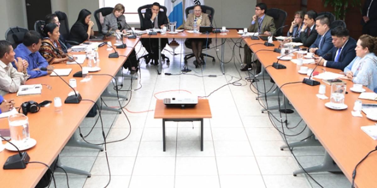 Fiscal general se reúne con delegados de Codeca