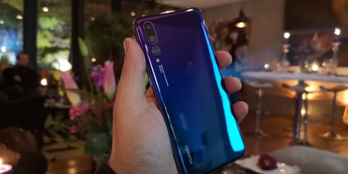 Se lanza en Chile el Huawei P20 Pro en color Twilight