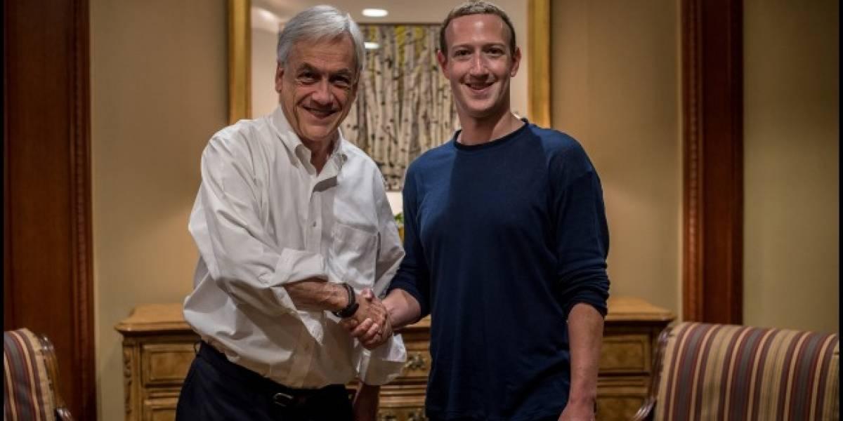 Presidente Piñera se reúne con Tim Cook, Mark Zuckerberg y Jeff Bezos en foro Sun Valley 2018