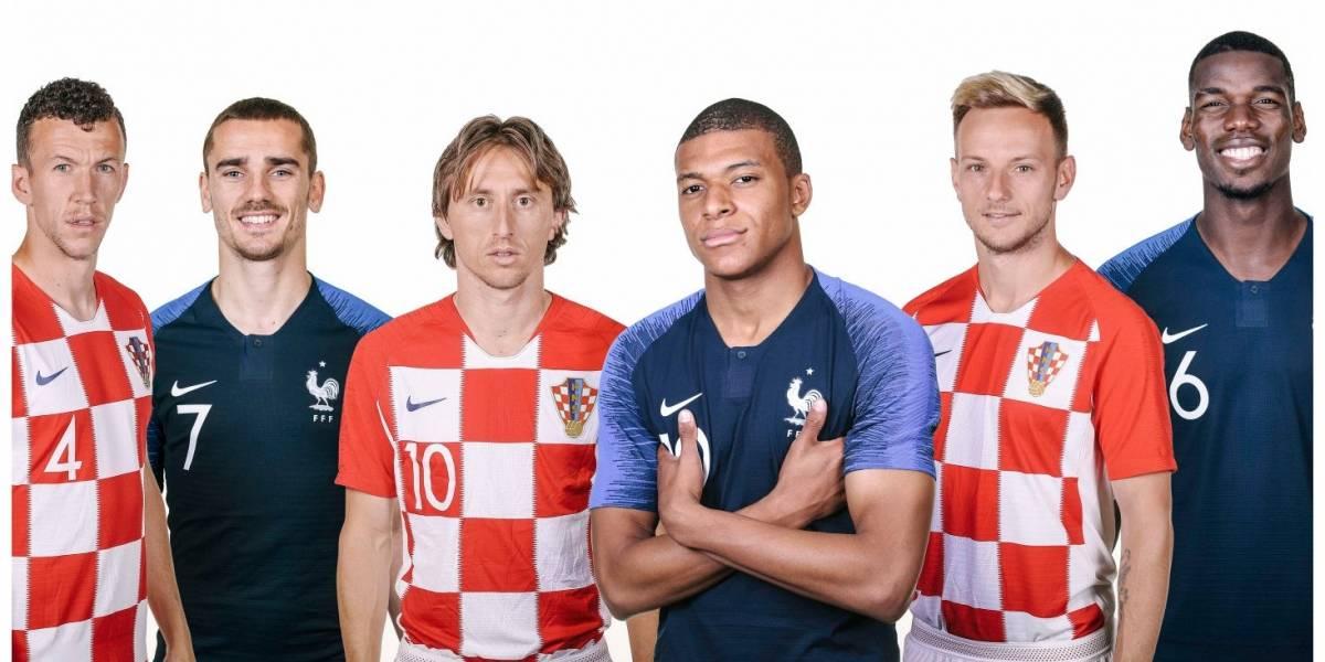 Francia vs. Croacia: Los estandartes que comandarán la gran final del Mundial de Rusia 2018