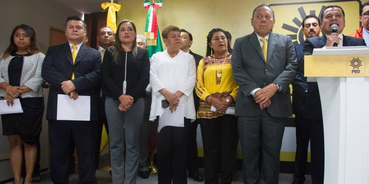 PRD inicia desde ya, su nuevo proceso de transformación: Manuel Granados