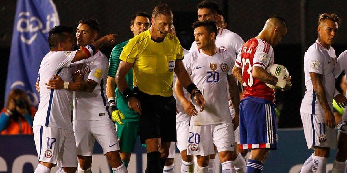 Néstor Pitana, el árbitro de la final del Mundial que le costó una durísima sanción a Gary Medel
