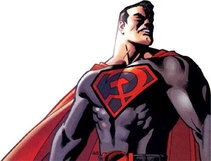 Superman hijo rojo de DC Comic