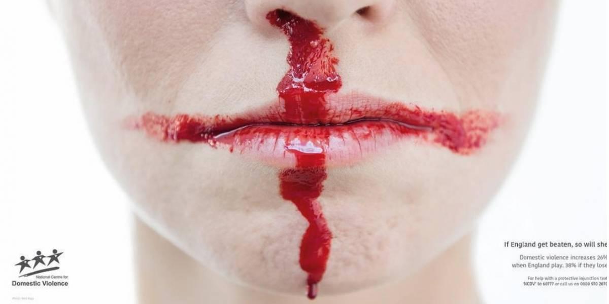 Aumenta violencia doméstica por derrota de Inglaterra