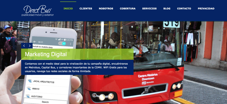 Wi-Fi por Direct Bus