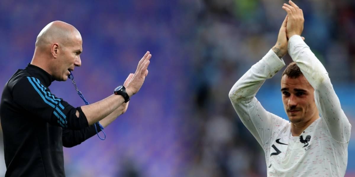 Paul Pogba compara a Griezmann con Zinedine Zidane