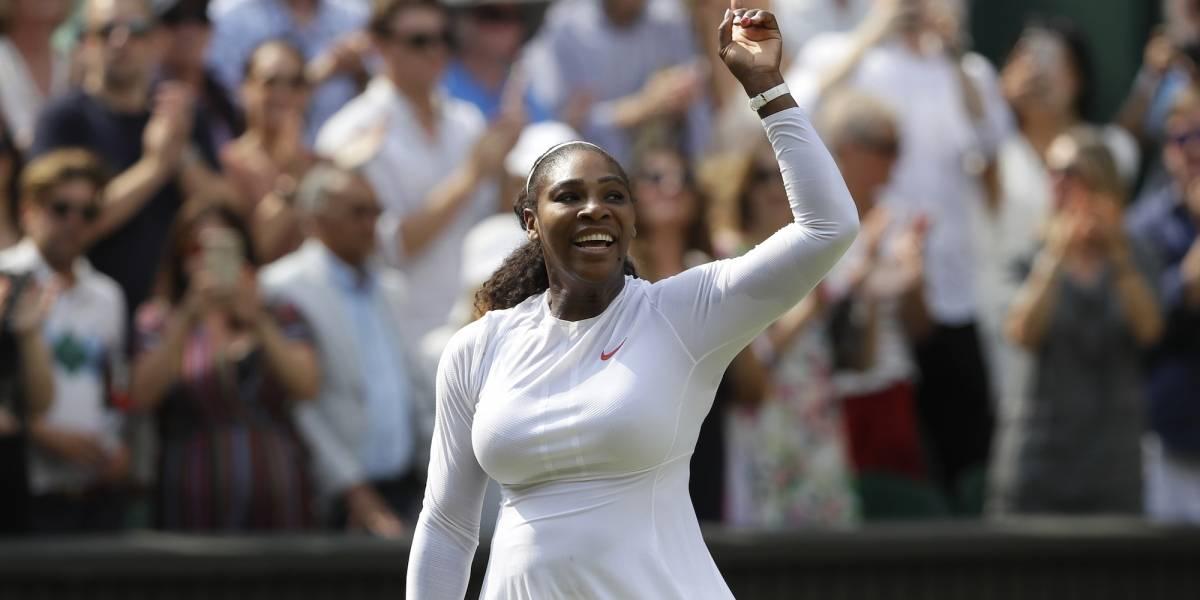 Serena avanza caminando y ya está lista la Final de Wimbledon