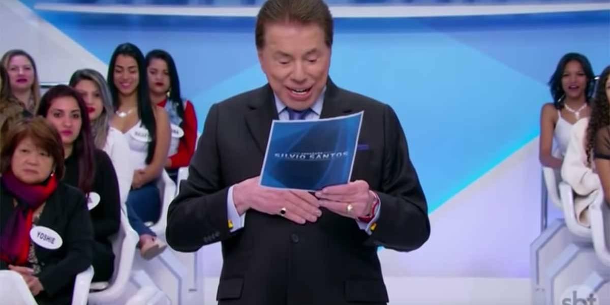 'Feia', dispara Silvio Santos ao ver foto de Bruna Marquezine