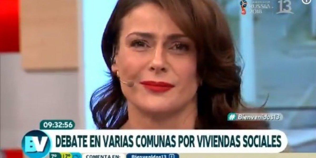 """Tonka Tomicic llora en pantalla al recordar duro episodio familiar: """"Todos tenemos una historia"""""""