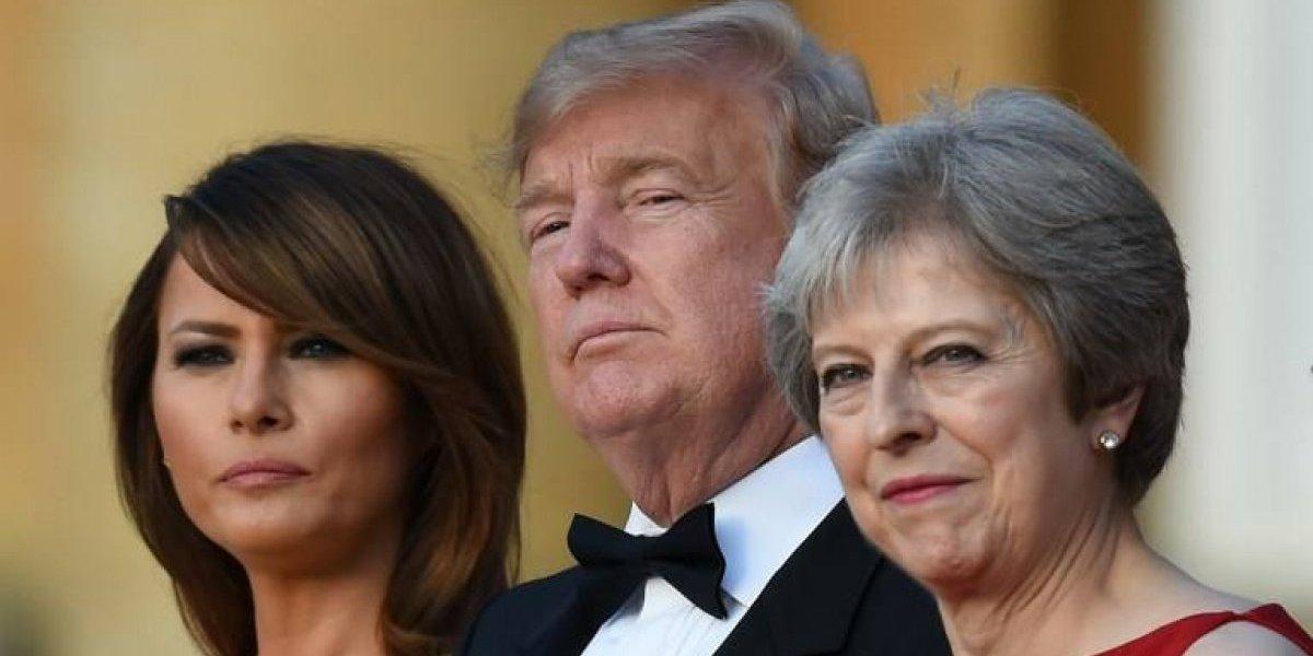 Los desaires de Trump a May y el Reino Unido desde que llegó a la Casa Blanca