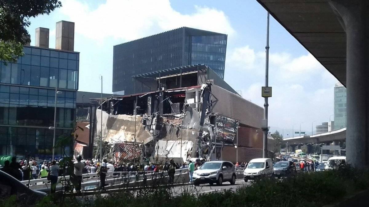 Las imágenes más relevantes del desplome en Plaza Artz Especial