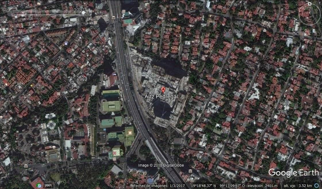 Enero 2017 Foto: Google Earth