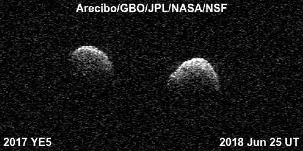Observatorio de Arecibo analiza extraño asteroide doble