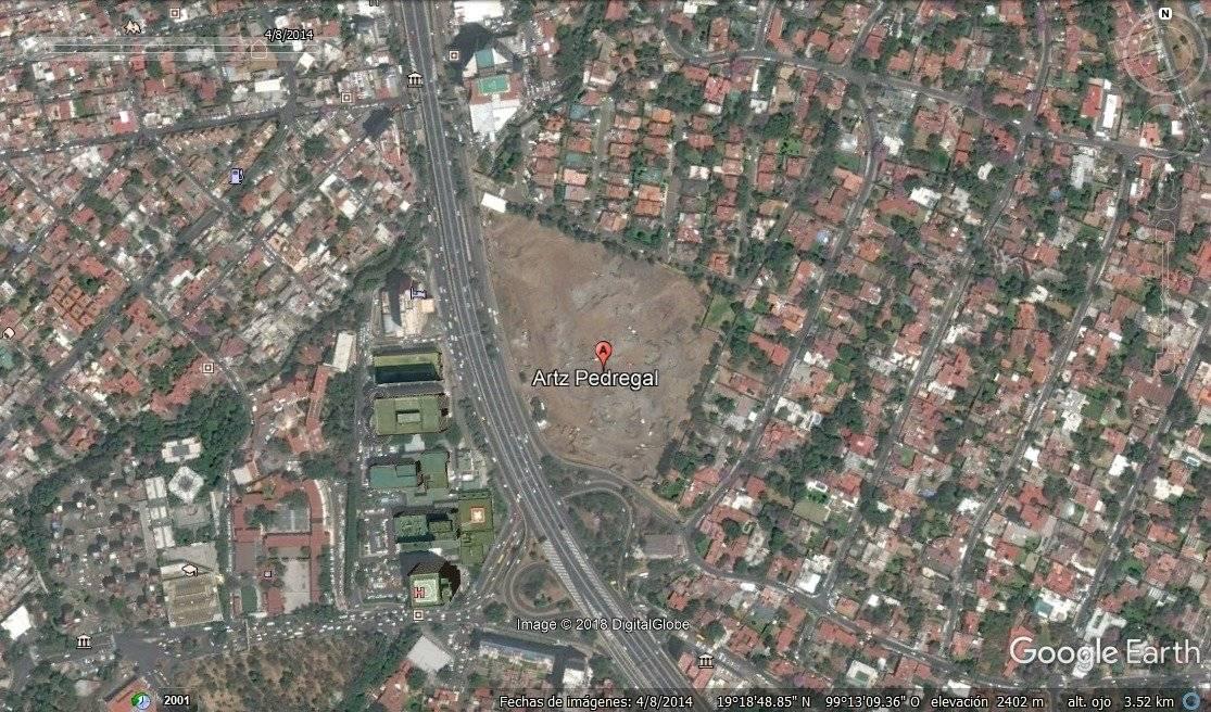 Abril 2014 Foto: Google Earth