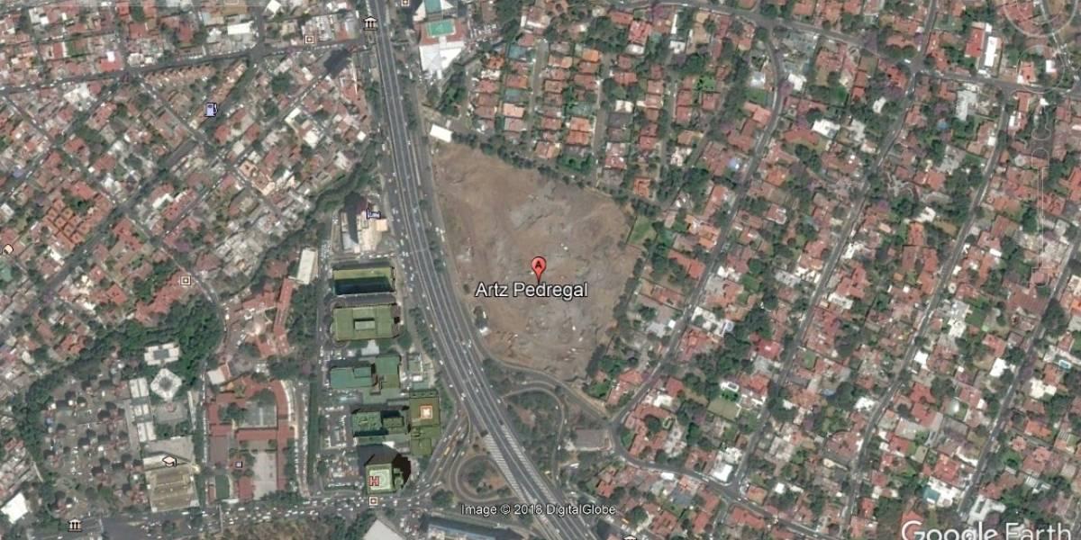 Talaron más de 50 mil árboles para construir plaza comercial en el Pedregal