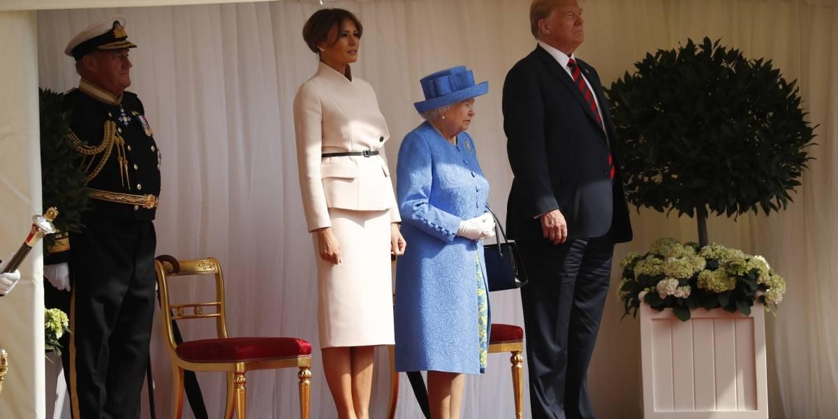 Trump es el duodécimo presidente de EU que se reúne con la reina Isabel II