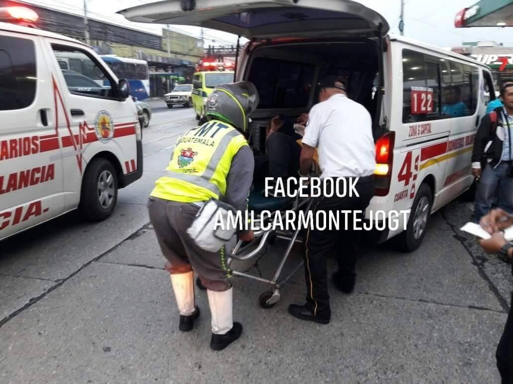 ataque armado contra bus en la zona 6