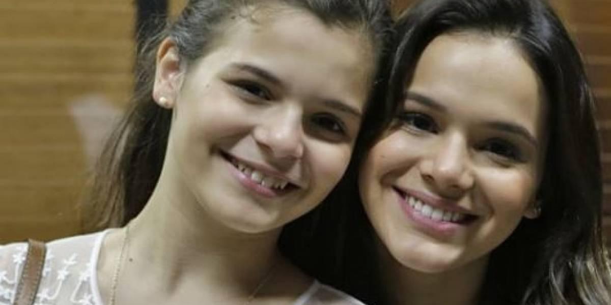 Genética: A semelhança da irmã de Bruna Marquezine com a atriz