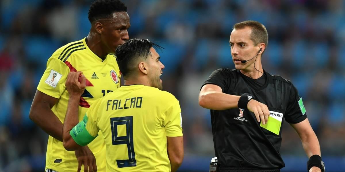 Así premió la Fifa al árbitro del partido Colombia vs. Inglaterra