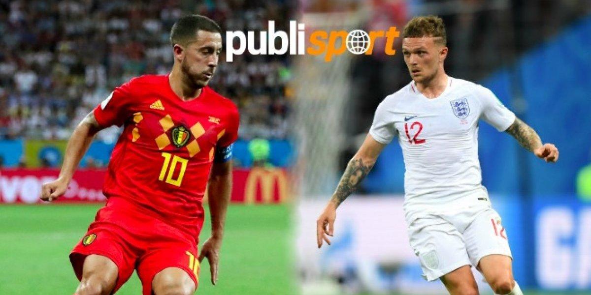 Bélgica vs Inglaterra ¿Dónde y a qué hora ver el partido?