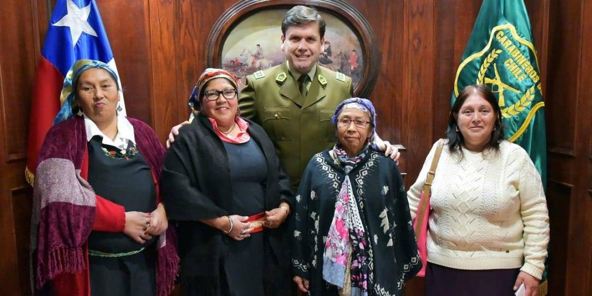 La curiosa reunión entre el alto mando de Carabineros y líderes de comunidades mapuche de la Región de Los Lagos