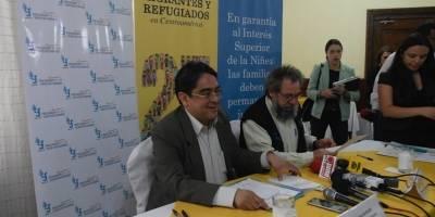 conferencia del PDH y Casa del Migrante