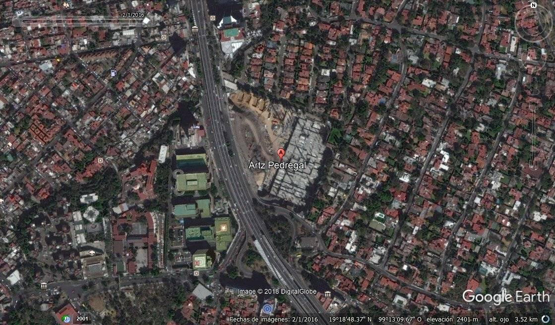 Febrero 2016 Foto: Google Earth