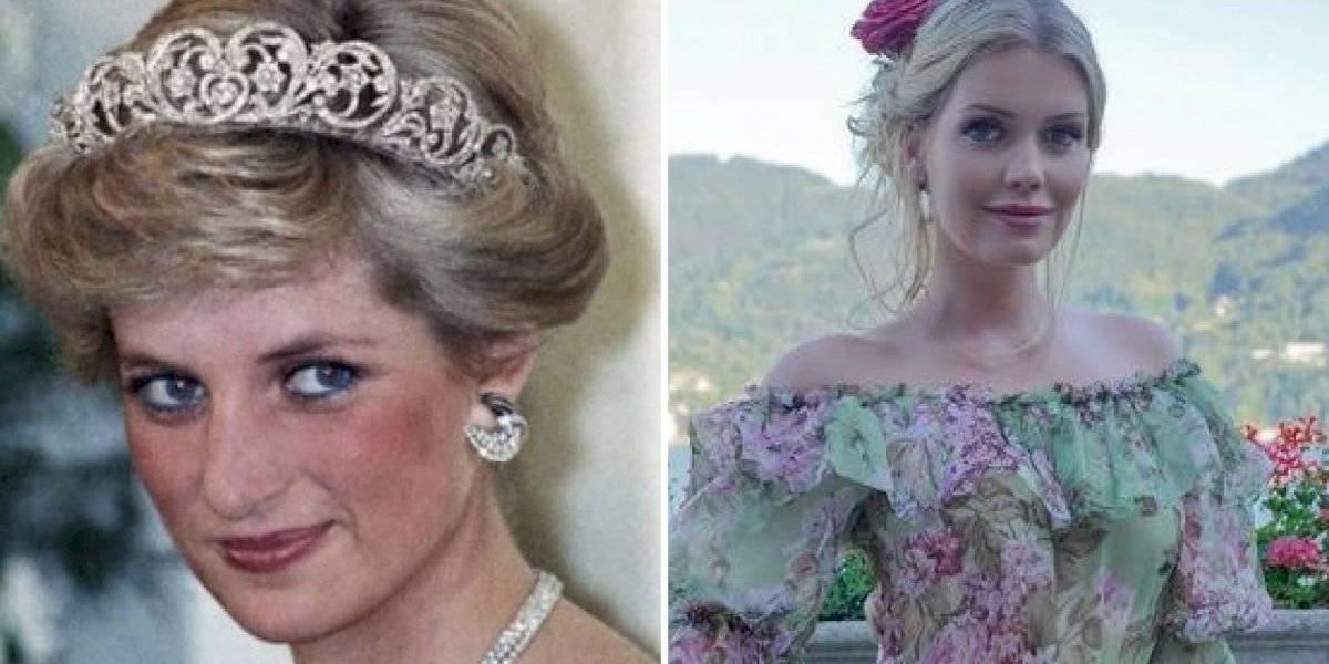 Sobrinha de princesa Diana fica noiva de homem 32 anos mais velho que ela