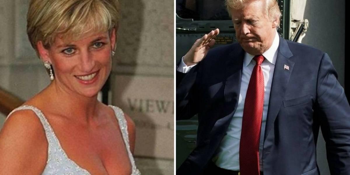 Amor obsessivo: Princesa Diana teria sido assediada por Donald Trump