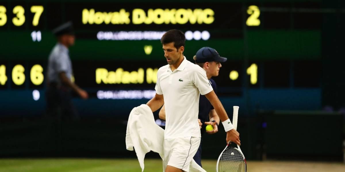 Djokovic se quedó a un set de jugar la Final de Wimbledon