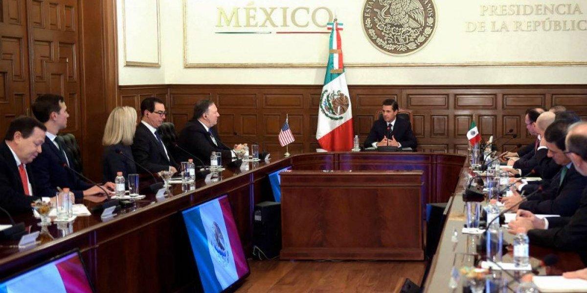 Peña Nieto urge a Pompeo rápida reunificación de familias separadas en la frontera