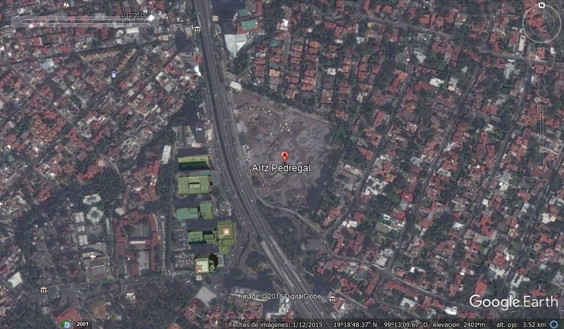 Enero 2015 Foto: Google Earth