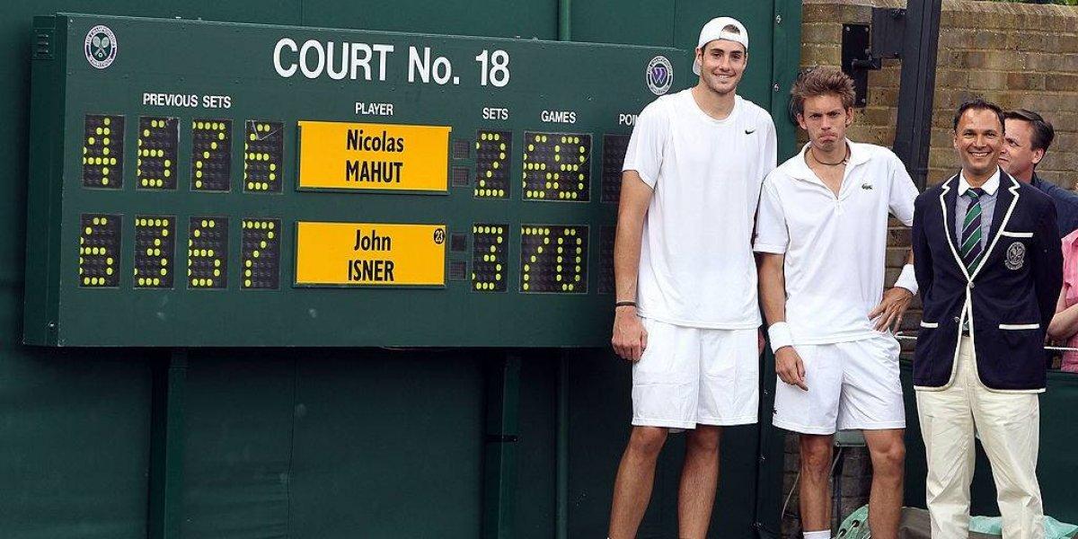 """Está acostumbrado: Isner repitió otra """"maratón"""" en Wimbledon durante un Mundial de fútbol"""