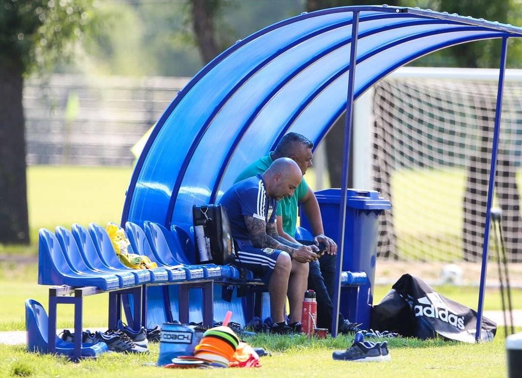 Sampaoli y Tapia no han tenido contacto en los últimos días / Foto: Getty Images