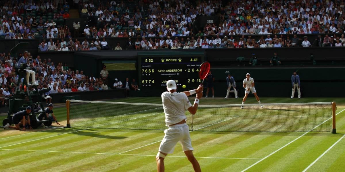 ¡Histórico! Anderson venció a Isner en el segundo partido más largo de la historia de Wimbledon