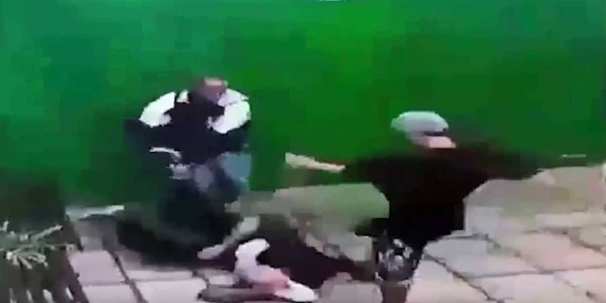 Violência e covardia: idoso é espancado e esfaqueado em assalto