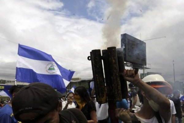 Miles de nicaragüenses manifestaron nuevamente