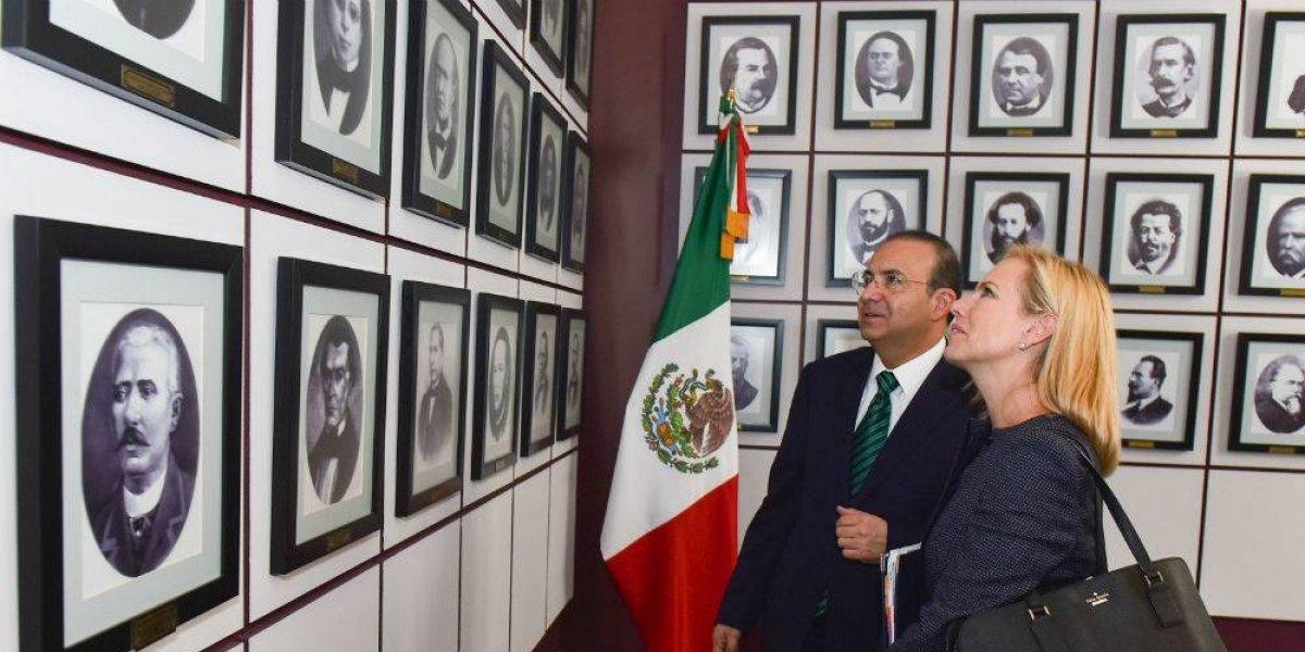 Acuerda Navarrete Prida con Nielsen trabajar en seguridad y migración