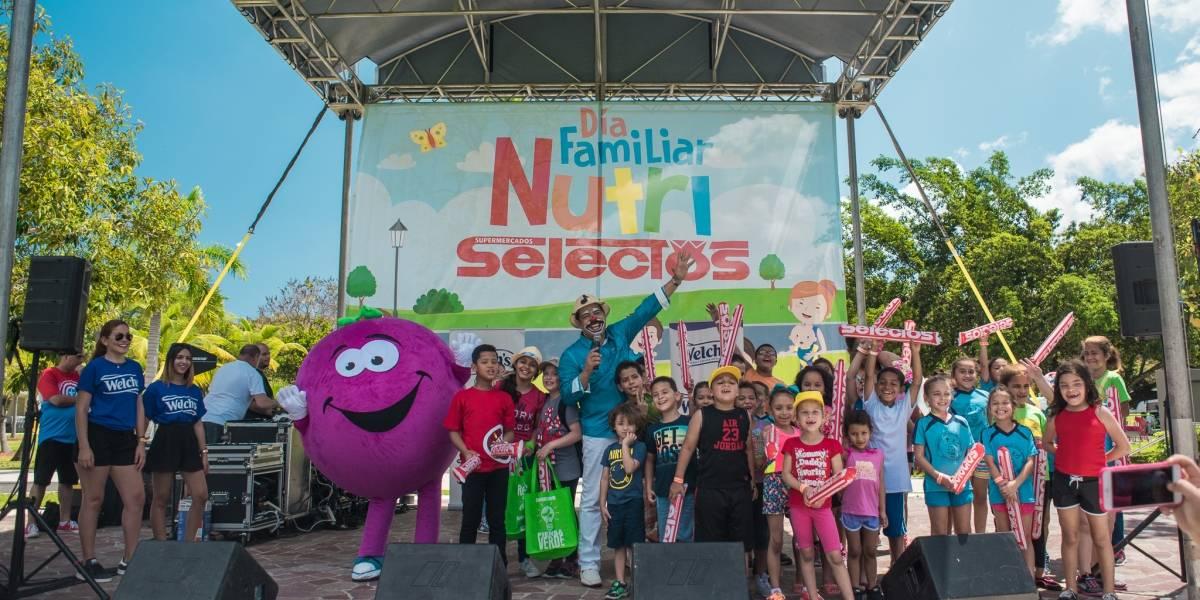 Supermercados Selectos celebra su 3er Día Familiar Nutri Selectos