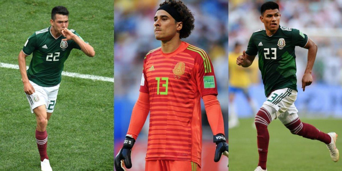 Seis mexicanos entre los mejores 100 futbolistas del Mundial