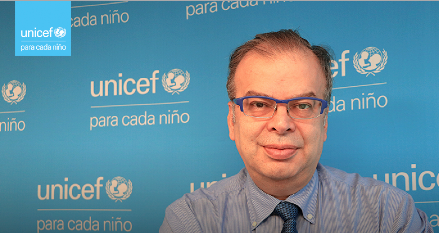 Asume nuevo representante de Unicef en Chile